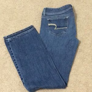 🦅 American Eagle stretch jeans, size 8 Long